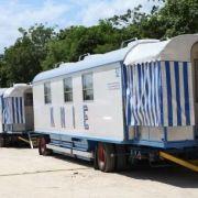 Büro-Wagen Circus Knie